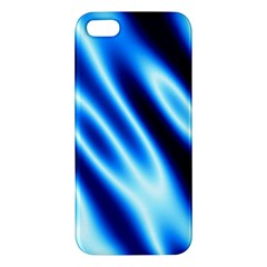Grunge Blue White Pattern Background Apple Iphone 5 Premium Hardshell Case