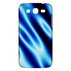 Grunge Blue White Pattern Background Samsung Galaxy Mega 5 8 I9152 Hardshell Case