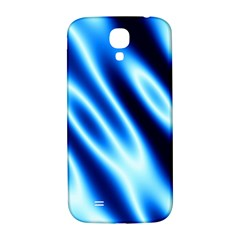 Grunge Blue White Pattern Background Samsung Galaxy S4 I9500/I9505  Hardshell Back Case