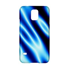 Grunge Blue White Pattern Background Samsung Galaxy S5 Hardshell Case