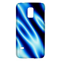 Grunge Blue White Pattern Background Galaxy S5 Mini