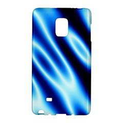 Grunge Blue White Pattern Background Galaxy Note Edge