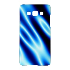 Grunge Blue White Pattern Background Samsung Galaxy A5 Hardshell Case