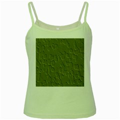 Olive Bubble Wallpaper Background Green Spaghetti Tank