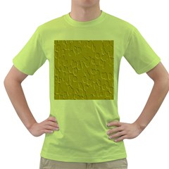 Olive Bubble Wallpaper Background Green T Shirt