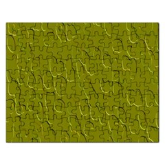 Olive Bubble Wallpaper Background Rectangular Jigsaw Puzzl