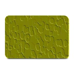 Olive Bubble Wallpaper Background Plate Mats
