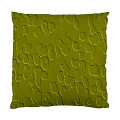 Olive Bubble Wallpaper Background Standard Cushion Case (two Sides)