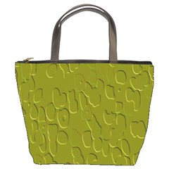 Olive Bubble Wallpaper Background Bucket Bags