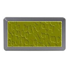 Olive Bubble Wallpaper Background Memory Card Reader (mini)