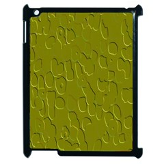 Olive Bubble Wallpaper Background Apple iPad 2 Case (Black)