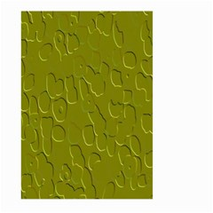Olive Bubble Wallpaper Background Large Garden Flag (Two Sides)