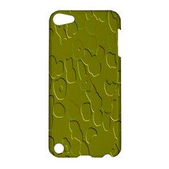 Olive Bubble Wallpaper Background Apple iPod Touch 5 Hardshell Case