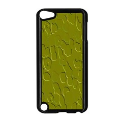 Olive Bubble Wallpaper Background Apple Ipod Touch 5 Case (black)