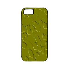 Olive Bubble Wallpaper Background Apple iPhone 5 Classic Hardshell Case (PC+Silicone)