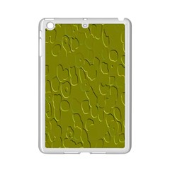 Olive Bubble Wallpaper Background iPad Mini 2 Enamel Coated Cases