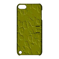 Olive Bubble Wallpaper Background Apple iPod Touch 5 Hardshell Case with Stand