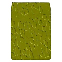 Olive Bubble Wallpaper Background Flap Covers (L)