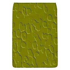 Olive Bubble Wallpaper Background Flap Covers (S)