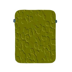 Olive Bubble Wallpaper Background Apple iPad 2/3/4 Protective Soft Cases