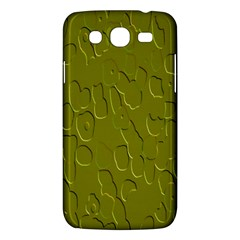 Olive Bubble Wallpaper Background Samsung Galaxy Mega 5.8 I9152 Hardshell Case
