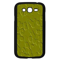 Olive Bubble Wallpaper Background Samsung Galaxy Grand DUOS I9082 Case (Black)