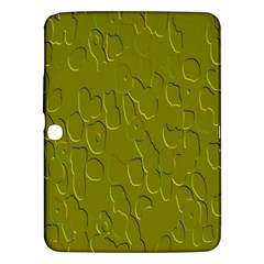 Olive Bubble Wallpaper Background Samsung Galaxy Tab 3 (10.1 ) P5200 Hardshell Case