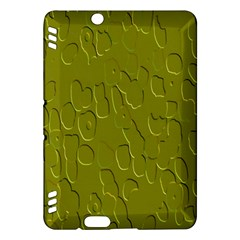 Olive Bubble Wallpaper Background Kindle Fire HDX Hardshell Case