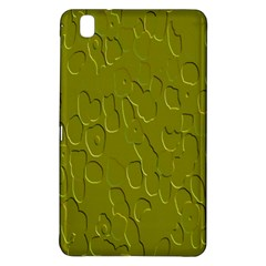 Olive Bubble Wallpaper Background Samsung Galaxy Tab Pro 8.4 Hardshell Case