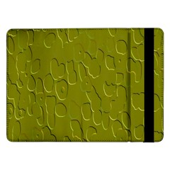 Olive Bubble Wallpaper Background Samsung Galaxy Tab Pro 12.2  Flip Case