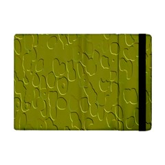 Olive Bubble Wallpaper Background iPad Mini 2 Flip Cases