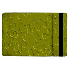 Olive Bubble Wallpaper Background iPad Air Flip
