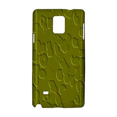 Olive Bubble Wallpaper Background Samsung Galaxy Note 4 Hardshell Case
