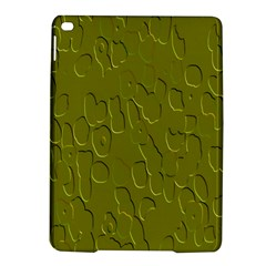 Olive Bubble Wallpaper Background iPad Air 2 Hardshell Cases