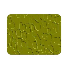 Olive Bubble Wallpaper Background Double Sided Flano Blanket (mini)