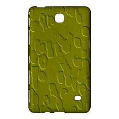 Olive Bubble Wallpaper Background Samsung Galaxy Tab 4 (7 ) Hardshell Case