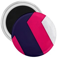 Pink Pattern 3  Magnets