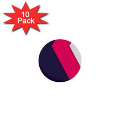 Pink Pattern 1  Mini Buttons (10 Pack)