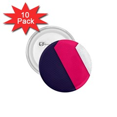 Pink Pattern 1.75  Buttons (10 pack)