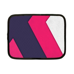 Pink Pattern Netbook Case (Small)