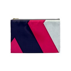 Pink Pattern Cosmetic Bag (medium)