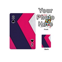Pink Pattern Playing Cards 54 (Mini)