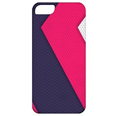 Pink Pattern Apple iPhone 5 Classic Hardshell Case