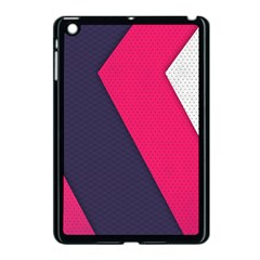 Pink Pattern Apple iPad Mini Case (Black)
