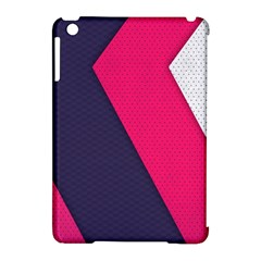 Pink Pattern Apple Ipad Mini Hardshell Case (compatible With Smart Cover)