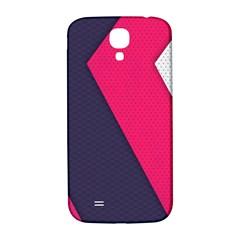 Pink Pattern Samsung Galaxy S4 I9500/I9505  Hardshell Back Case