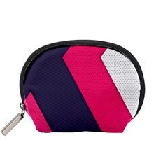 Pink Pattern Accessory Pouches (Small)