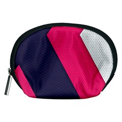 Pink Pattern Accessory Pouches (Medium)