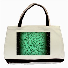 Grunge Rain Frame Basic Tote Bag (Two Sides)