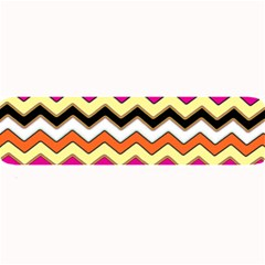 Colorful Chevron Pattern Stripes Pattern Large Bar Mats